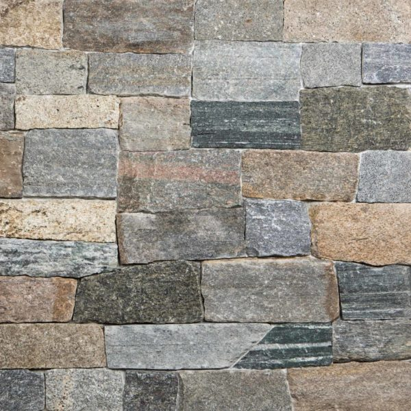Boston Blend Ashlar Pattern Thin Veneer Stone