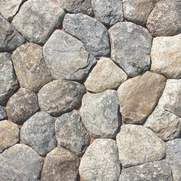 Boston Blend Round Thin Veneer Stone