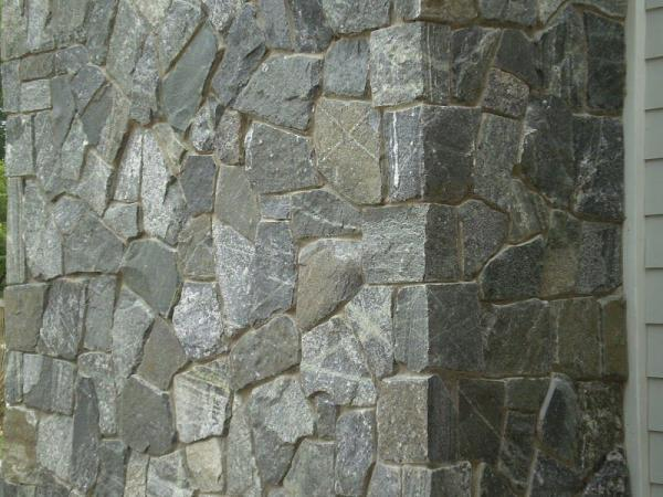 Connecticut Whiteline Mosaic Thin Veneer Exterior