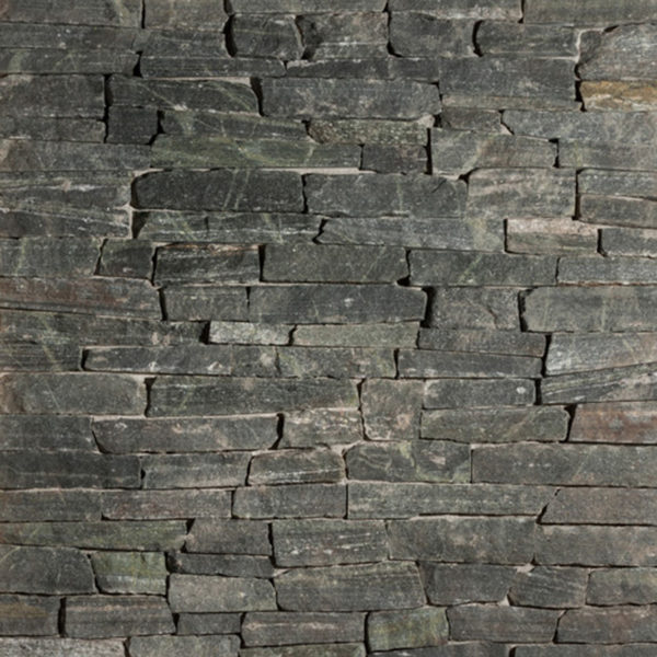 Connecticut White Line Ledgestone thin veneer stone