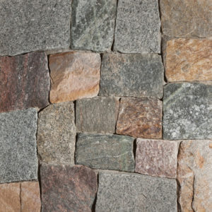 New England Blend Square Rectangular Thin Veneer Stone
