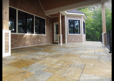 Sandy Point granite patio