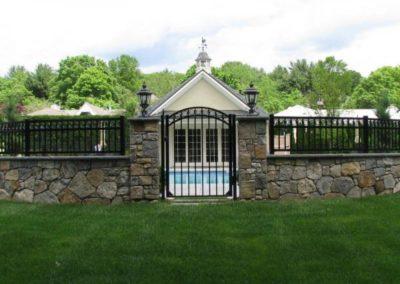 New England fieldstone walls