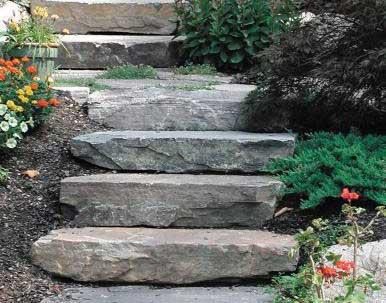 Corinthian Granite special order steps