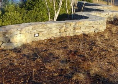 New England Fieldstone flat wall stone