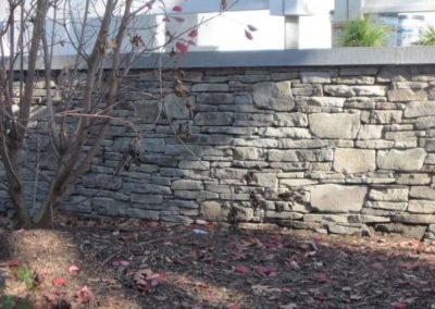 PA thin wall with bluestone caps