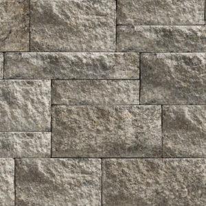 Unilock Estate Wall Granite segmented retaining wall blocks