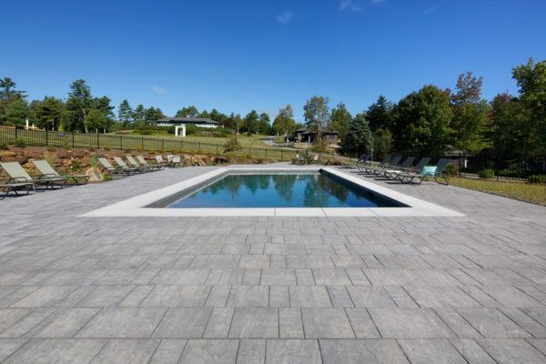 Genest Windham Ridge Concrete Pavers Pool Deck