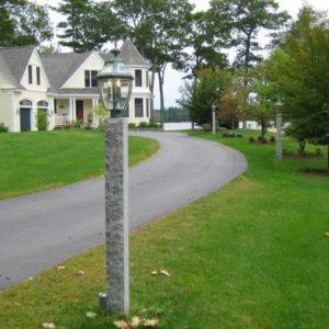 Granite Lamp Post Stanstead