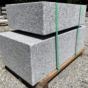 Large blocks of granite stone
