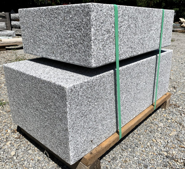 Large blocks of granite stone