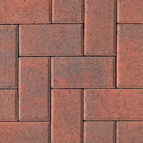 Unilock Hollandstone Rustic Red Pavers