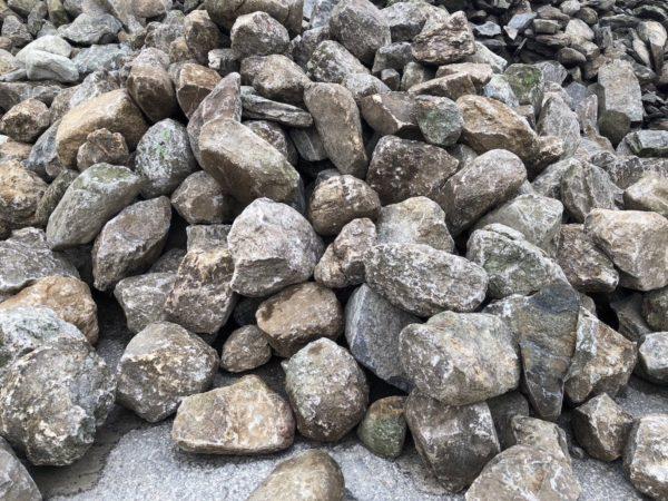 New England Fieldstone-rounded wall stone