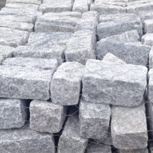 Pile of Regulation Gray Cobblestone