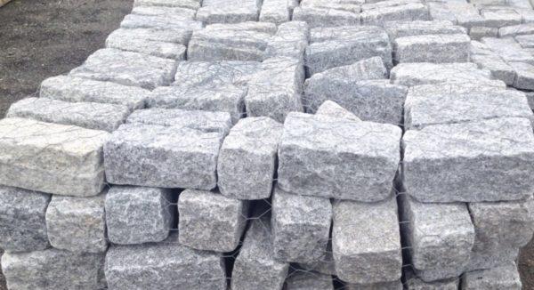 Pile of Regulation Gray Cobblestone
