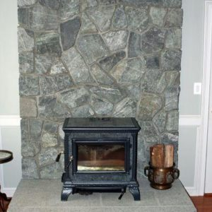 Salt and Pepper granite hearth
