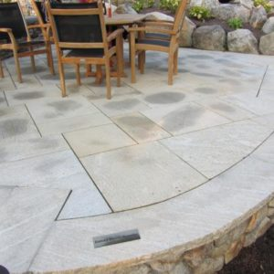 Sandy Point Granite Flagging Stone patio