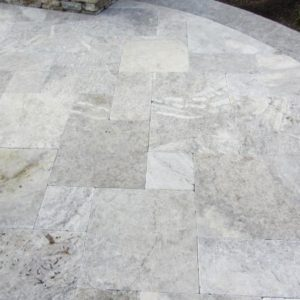Silver Travertine Flagging Stone