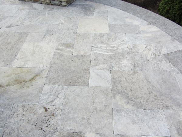 Silver Travertine Flagging Stone