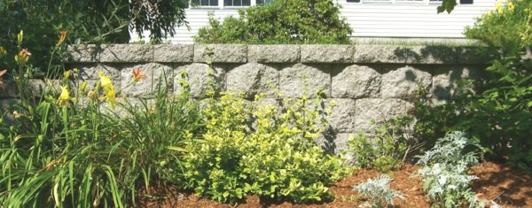 Stonewall Segmented Retaining Wall Blocks Ideal Concrete