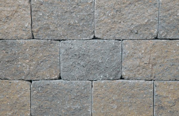 Vineyard Blend Stonewall Segmented Retaining Wall Blocks by Ideal Concrete