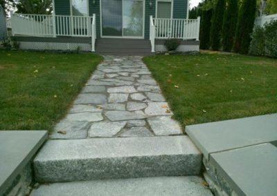 CT Whiteline flagging walkway