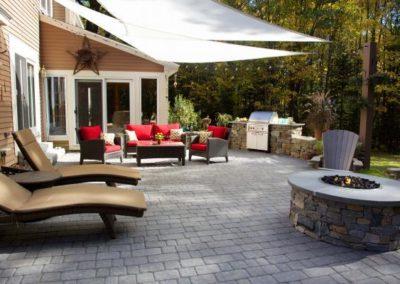 Baxter Stone granite blend patio