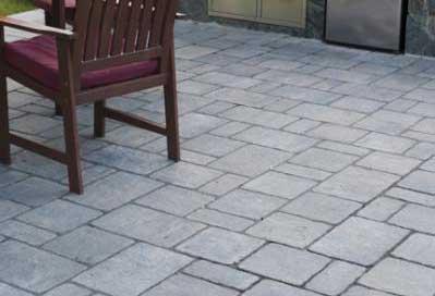 Grand Katahdin granite blend patio