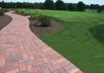 Hollandstone cumberland blend walkway