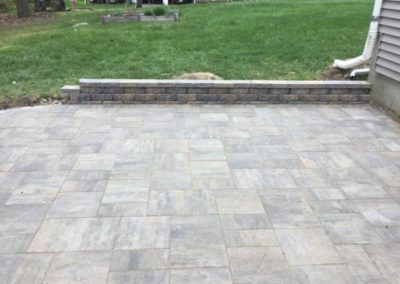 Kennebec Flagging granite blend patio