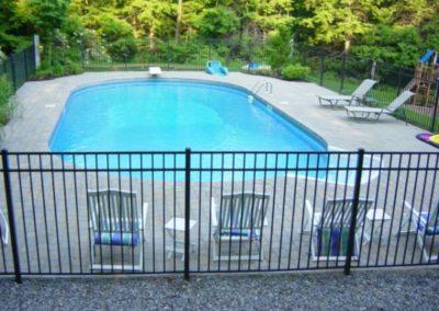 Millstone pavers pool deck