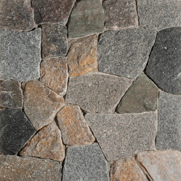 New England Blend Mosaic Thin Veneer Stone