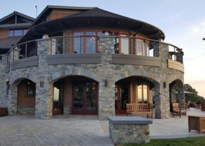 Boston Blend ashlar and ledgestone veneer