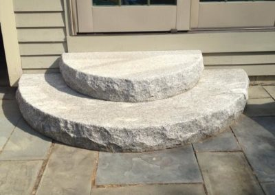Radius stanstead granite steps