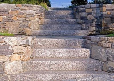 Caledonia granite steps