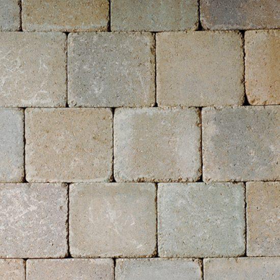 Unilock Brussels Block® Almond Grove Patio Pavers