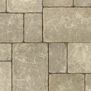 Unilock Brussels Block® concrete pavers- Sandstone