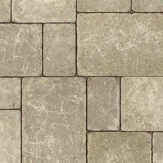 Unilock Brussels Block® concrete pavers- Sandstone