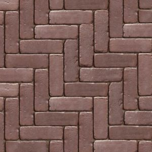 Unilock Copthorne Burgundy Red Pavers