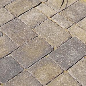 Ideal Concrete Millstone Pavers Vineyard Blend